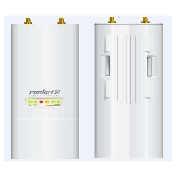 UBNT RocketM2 2.4GHz 室外无线网桥 大功率 远距离 外接天线